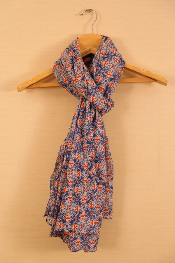 Red Colored Casual Printed Dupatta